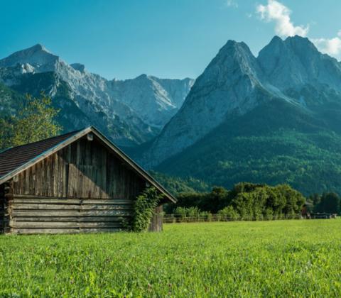 Sommerzeit in Garmisch